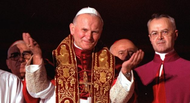 "St. John Paul II: ""Open Wide the Doors for Christ"""