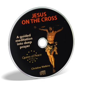 Jesus on the Cross prayer CD