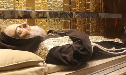 "St. Padre Pio: ""Pray, Hope, and Don't Worry"""