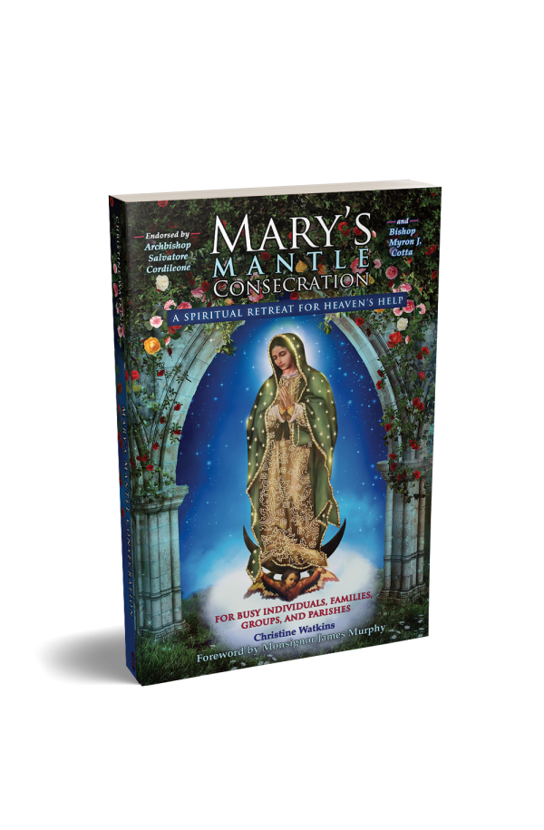Mary's Mantle Consecration book